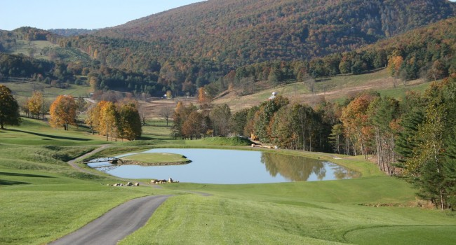 Hole 10 in Pendleton County. Proposed casino would be built in this area.