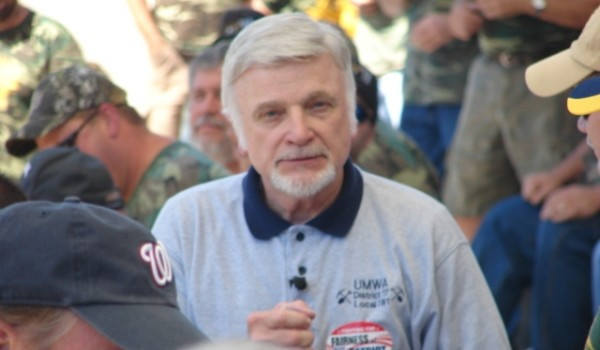 UMWA President Cecil Roberts vows no contract will be accepted with Patriot which doesn't include retiree health care benefits