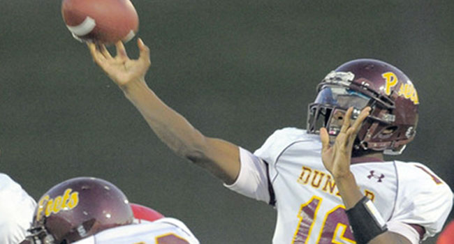 Dual-threat quarterback William Crest followed another Baltimore-Dunbar graduate, Tavon Austin, to Morgantown.