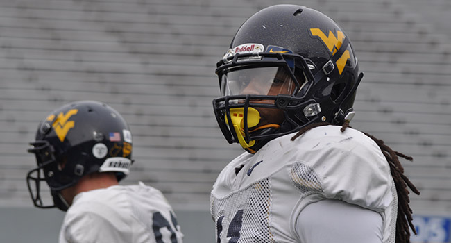 Junior college transfer Kevin White is a 6-foot-3 receiver projected to make an immediate impact for West Virginia.