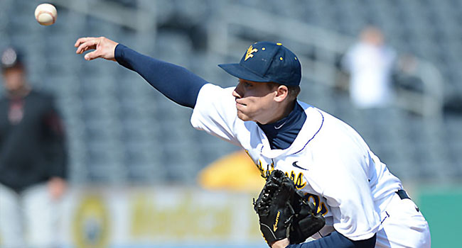 WVU's Dan Dierdorff will start the Big 12 tournament opener against Kansas, with coach Randy Mazey saving ace Harrison Musgrave for Friday's round-robin game against TCU.
