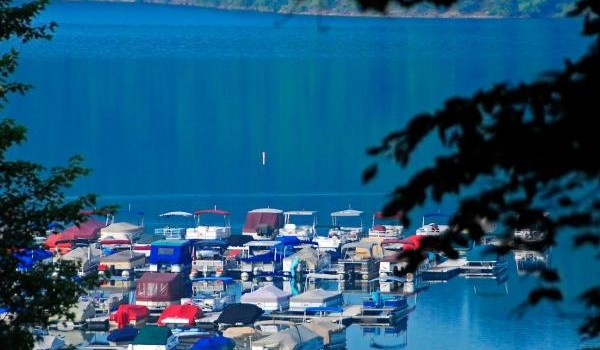 Tygart Lake marina, a popular spot when the lake is at full pool, typically draws tens of thousands of visitors each year.