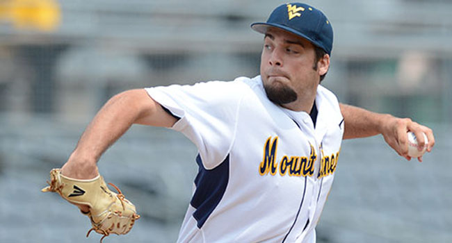 West Virginia's Harrison Musgrave was Big 12 pitcher of the year as a redshirt sophomore.
