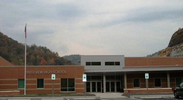 River View High School in McDowell County