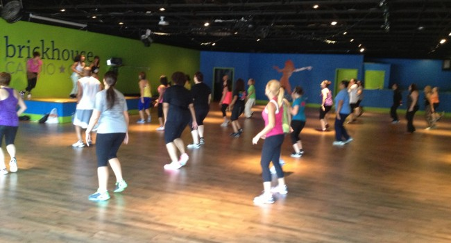 Brickhouse members experience a fitness format mash up from the experts