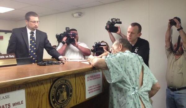 Roy Rodger Pittman was arraigned in Kanawha County Magistrate Court Thursday following his arrest.