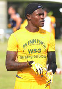 Class of 2015 receiver Jovon Durante has offers from Auburn, Alabama, Miami, and Pitt, but committed to West Virginia.