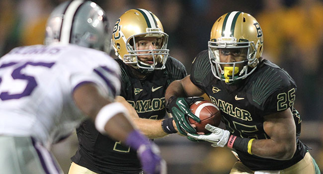 Baylor running back Lache Seastrunk was voted Big 12 offensive preseason player of the year by the media.