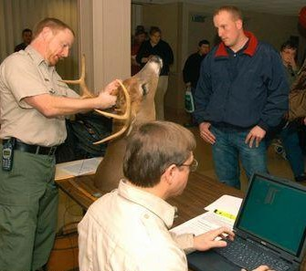 Official scores were made on 189 West Virginia bucks killed in 2012, 105 scored the minimum for trophy status