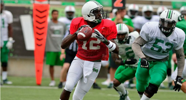 Rakeem Cato completed 13-of-21 passes for 141 yards in last week's scrimmage.