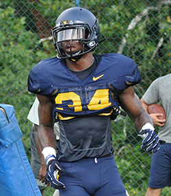 West Virginia cornerback Icky Banks must sit out three games after being reinstated from an academic eligibility situation.