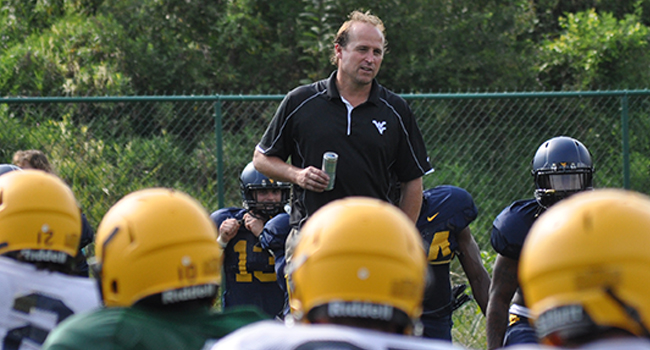 Dana Holgorsen and the West Virginia Mountaineers open preseason camp Thursday.