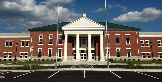 Spring Mills High in Berkeley County is one of those that was built in part with SBA funds.