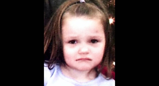Aliayah Lunsford, 3, was last seen at her family's home in Bendale on September 24, 2011.