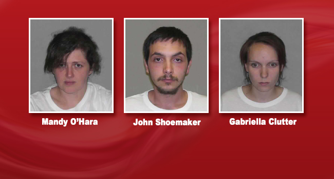 These three Capon Bridge residents remain in jail charged in connection with Michael O'Hara's murder.