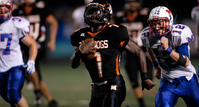 Martinsburg quarterback Malique Watkins' eligibility came into question in September.