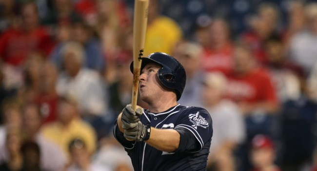 Former WVU standout Jedd Gyorko has 51 RBIs and 19 home runs in his rookie season for the Padres.