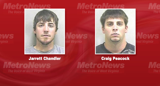 Jarrett Chandler and Craig Peacock were charged shortly after the August attack. Chandler pleaded guilty to a misdemeanor charge Thursday. Peacock faces a murder trial later this year.