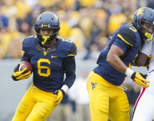 After tying for the West Virginia team lead with 45 receptions in 2013, Daikiel Shorts wants to improve his yards after catch.