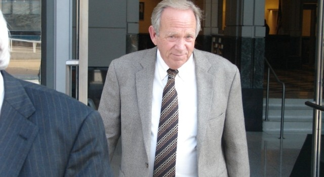 Mingo County Commissioner David Baisden pleaded guilty Oct. 1, 2013 to a federal extortion charge.