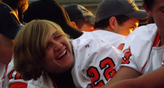 South Harrison community grieves after player dies of head injury sustained in Sept. 27 game.
