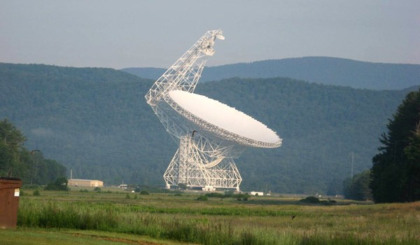 Operations of the Green Bank Telescope were suspended, until further notice, on Friday.