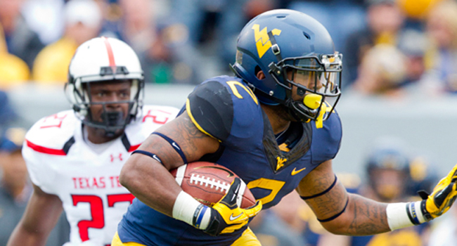 Dreamius Smith ran for two touchdowns and a season-high 89 yards in a 37-27 loss to Texas Tech.
