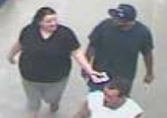 Detectives with the Kanawha County Sheriff's Department are trying to identify the two men, seen here, with Kelsey Marie Legg, who is already charged with murder.