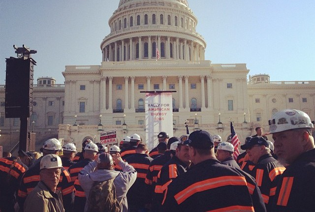 Coal miners on hand to fight for their jobs in Washington D.C.