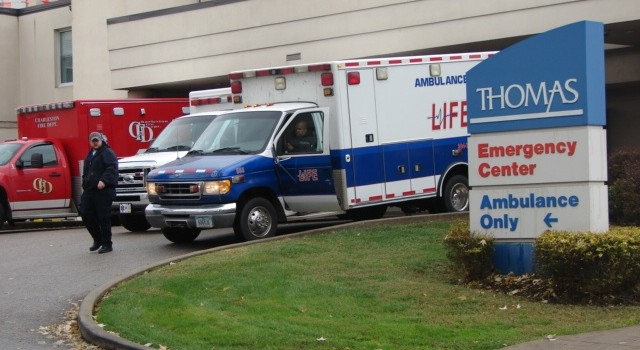 The staff at Thomas Hospital faced three possible scenarios during Wednesday's drill.