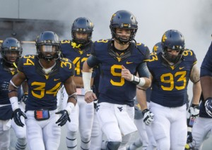 WVU quarterback Clint Trickett recently learned he played the final six games of 2013 with a torn labrum.