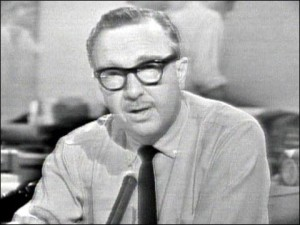 Many Americans heard about the death of President John F. Kennedy in 1963 from Walter Cronkite on CBS.