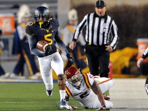 Mario Alford is one of four West Virginia players who played their high school football in the Atlanta area.