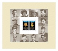 "Hershel ""Woody"" Williams among 12 pictured in stamp series"