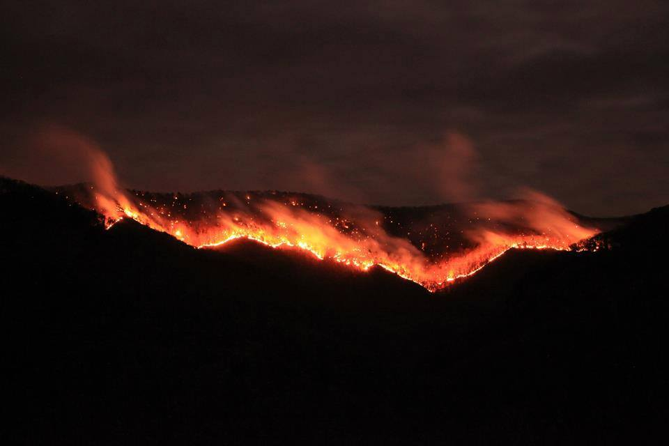 WV MetroNews – Monongahela National Forest fire grows