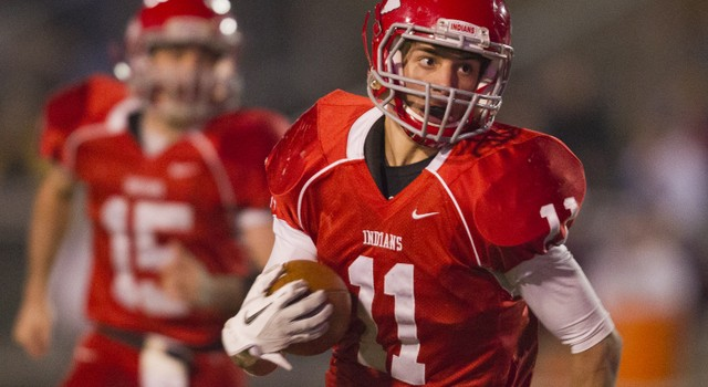 Bridgeport senior running back Anthony Bonamico was named captain of the Class AA all-state team.