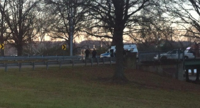 Tuesday evening's fatal accident took place on the south side connector of the Patrick Street Bridge in Charleston.