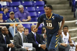 After battling the flu all week, Eron Harris didn't start Saturday's game at TCU, but he scored 22 points in a 74-69 win.