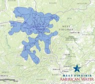 """The map turned all blue Friday afternoon with the Do Not Use order being lifted in Clendenin but areas of Putnam County remain under a """"limited contact"""" water order."""