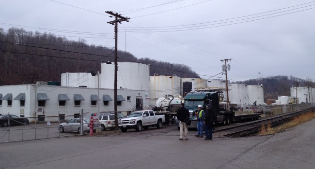 Freedom Industries ordered to remove all tanks from it's river terminal in Charleston