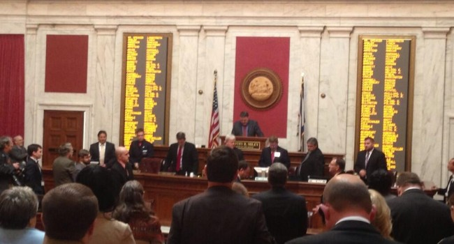 The West Virginia House of Delegates began its work Wednesday afternoon with new Speaker Tim Miley leading the proceedings.