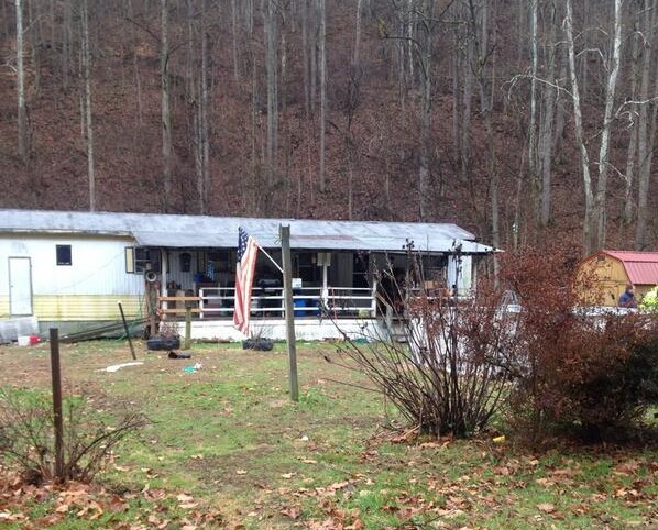 State Police say Thursday's murder/suicide took place in this mobile home on Joe's Creek Road in Boone County.