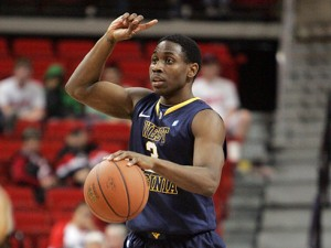 Juwan Staten and West Virginia are facing Texas Tech at the United Spirit Arena in Lubbock.
