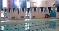 The University of Charleston has to drain its Olympic-sized pool, a process which will take five days.
