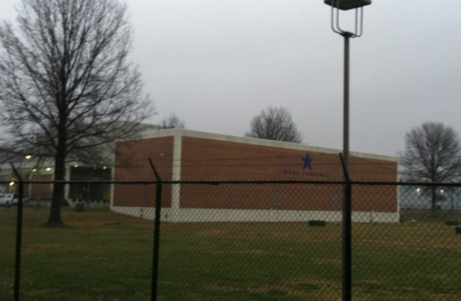 The West Virginia American Water Treatment Plant in Charleston where contamination occurred