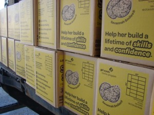 Nearly 1-million boxes of cookies were sold by members of the Black Diamond Council in WV.