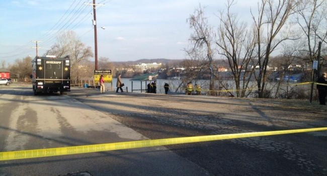 Woman's body was found floating in the Kanawha River Monday afternoon.