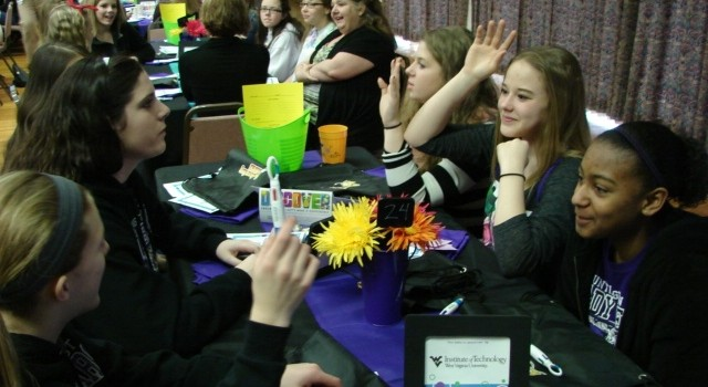 There were more than 200 girls from across the state who learned more about engineering careers at Thursday's event in Charleston.