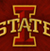 Iowa State logo scored