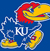 Kansas KU logo scored
